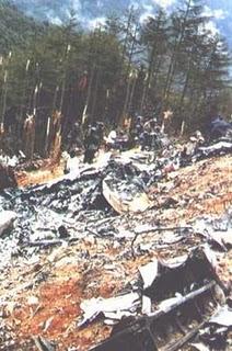 japan plane crash 1985