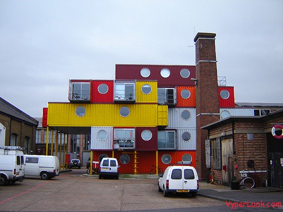 Container City 1 – London, UK