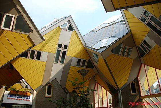 Cubic Houses – Rotterdam, Netherlands