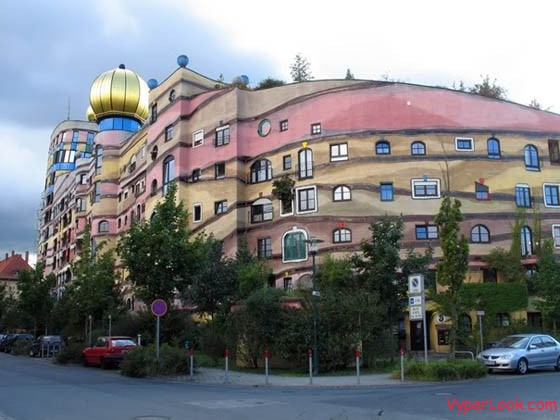 Forest Spiral – Hundertwasser Building – Darmstadt, Germany
