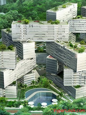 The Interlace OMA – Singapore – TO BE BUILT