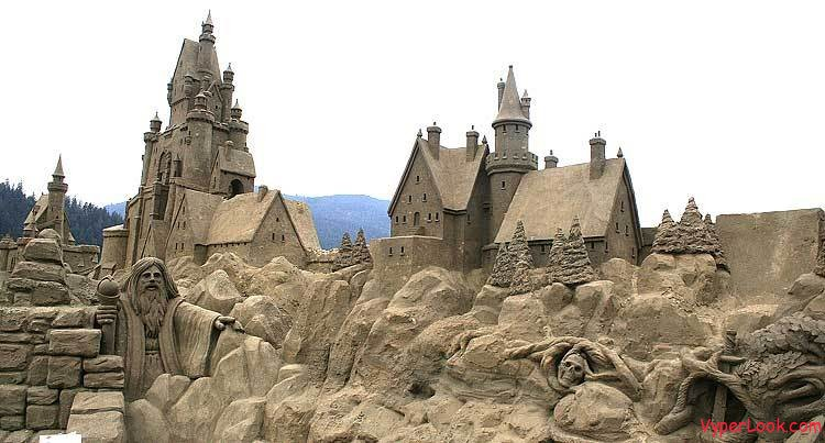 Sandcastle Art and Biggest Sandcastle in the World ...