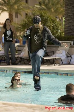 criss angel walk on water