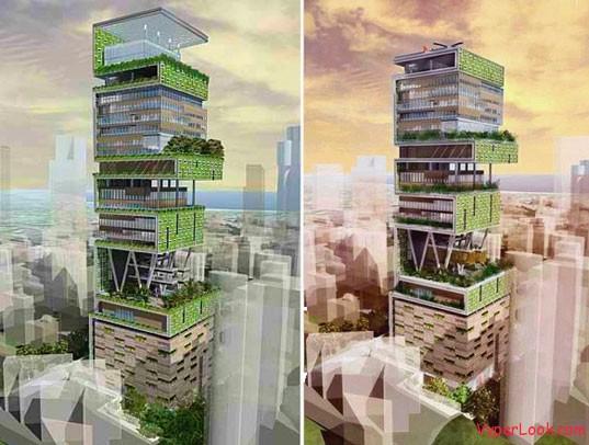 Most Expensive House 1 Billion Dollar House In Mumbai