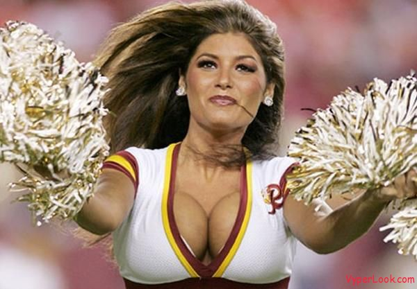 Cheerleader caught having sex nfl