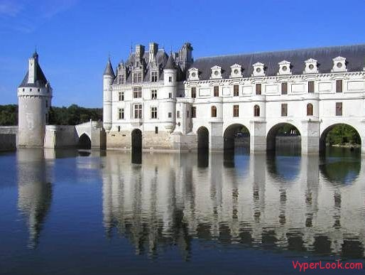 Chateau de Chenonceau Castles of the World Inside And Out Pictures Seen on www.VyperLook.com