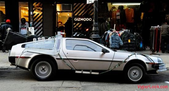 Back to the Future coffee shop