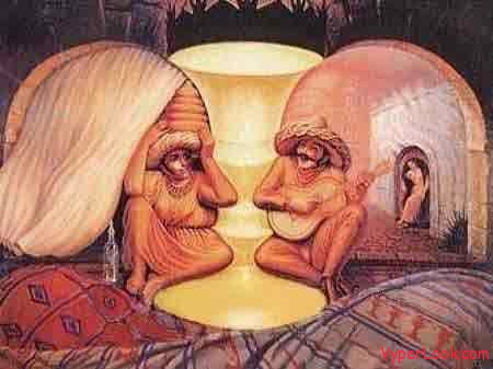crazy optical illusions old young