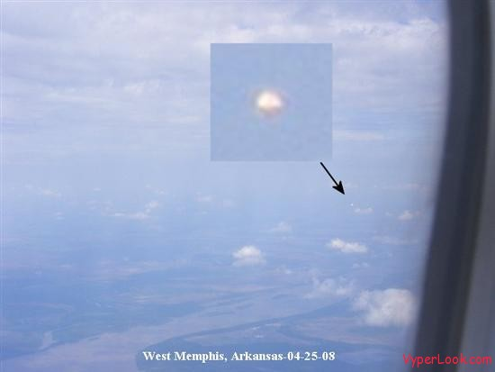 ufo from airplane 1