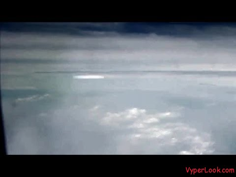 ufo from airplane