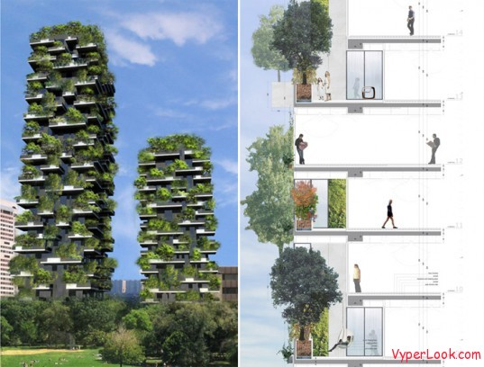 Bosco Verticale Amazing Vertical Forest 2