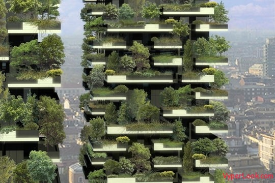 Bosco Verticale Amazing Vertical Forest 3