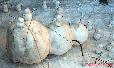funny snowman 1