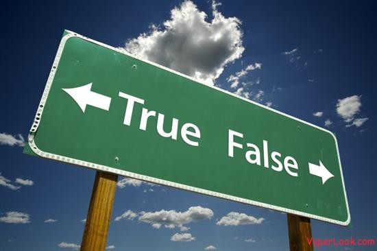 true false 5 False Myths Which Most People Believe Are Real Pictures Seen on www.VyperLook.com