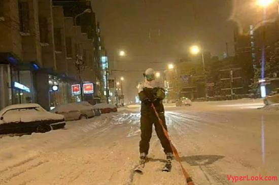 urban skiing Bucharest