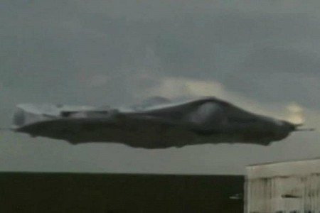 2012 UFO Lands In New Mexico