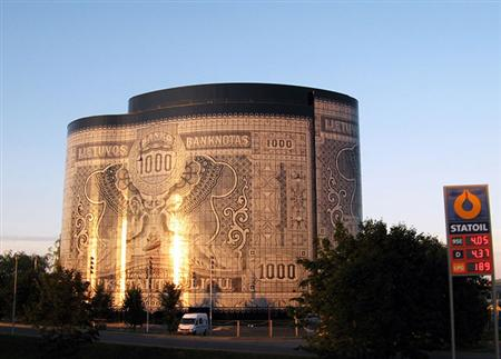 Banknote Building lithuania