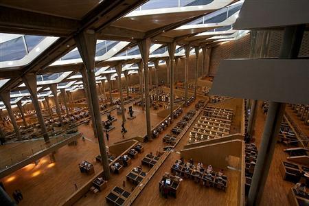 Bibliotheca Alexandrina inside1