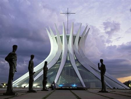 Cathedral of Brasilia Brazil