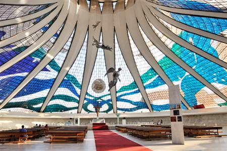 Cathedral of Brasilia inside
