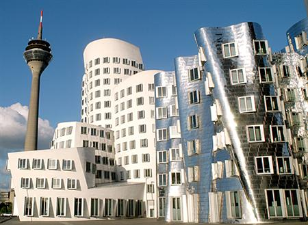 Gehry Building Dusseldorf Germany