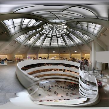 Guggenheim Museum inside