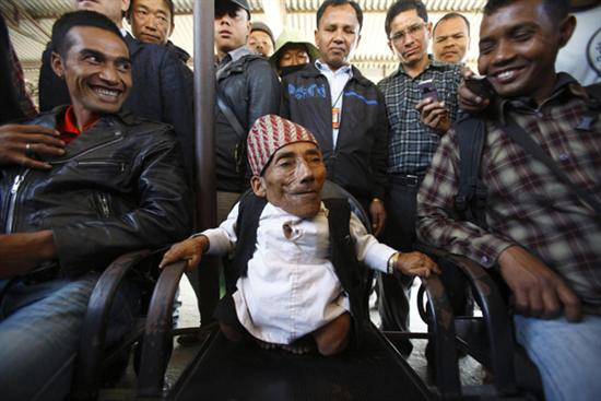 Nepal Worlds shortest man 2