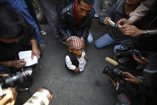 Nepal Worlds shortest man 3