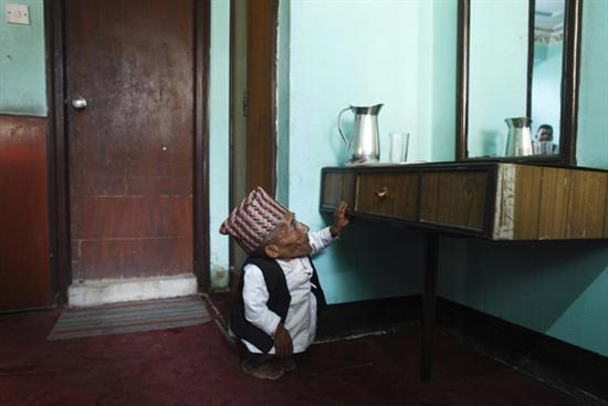 Nepal Worlds shortest man 5
