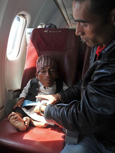 Nepal Worlds shortest man 7