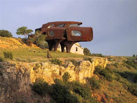 Robert Brunos steel house Lubbock Texas