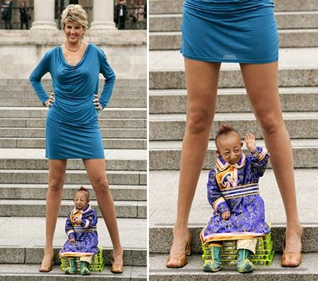 Svetlana Pankratova longest leggs woman