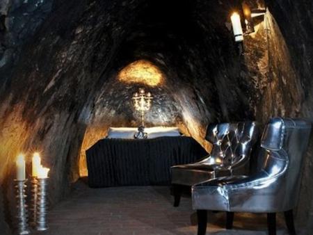 Underground hotel in Switzerland