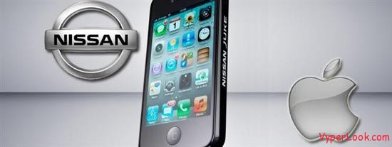 nissan apple iphone