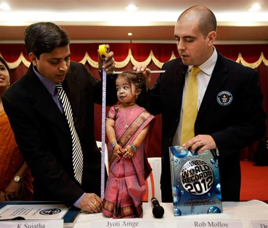 shortest woman Jvoti Amge