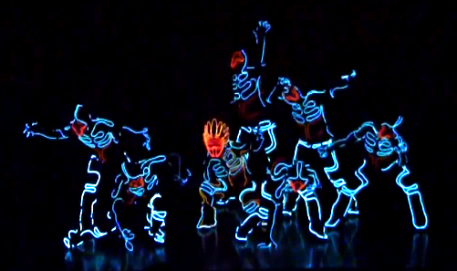 Japanese Light Suit Dance Tron 11