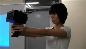 Speech jamming Gun 3