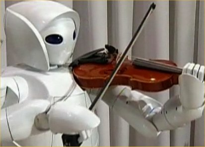 Violin-playing Robot