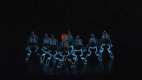 WreckingCrewOrchestra tron inspired dance rutine