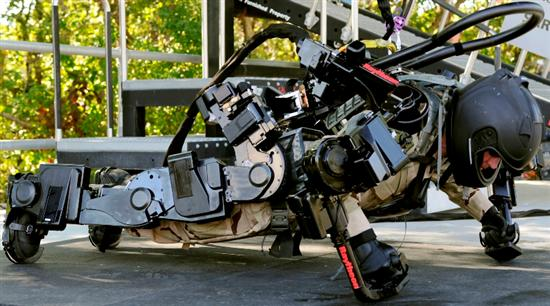 raytheon sarcos xos 2 exoskeleton Robotic Exoskeleton Muscle Suit Will Make Us Superhumans Pictures Seen on www.VyperLook.com
