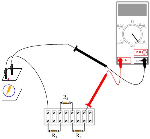 resistor batery