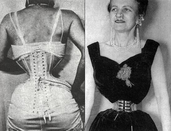 ethel granger s husband liked his women wasp waisted so he convinced ...