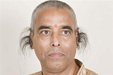 Radhakant Baijpai longest ear hair