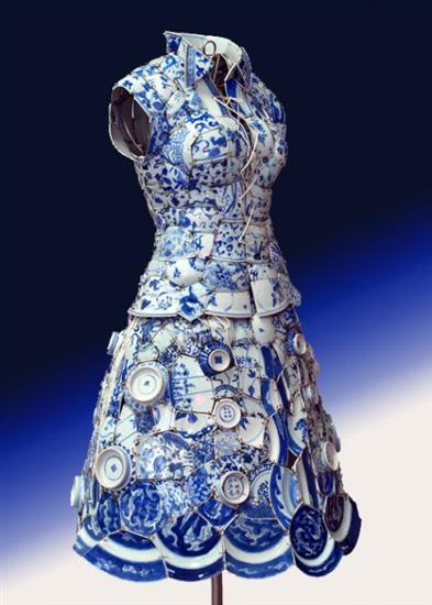 Memory of Beijing Suitdress by Li Xiaofeng