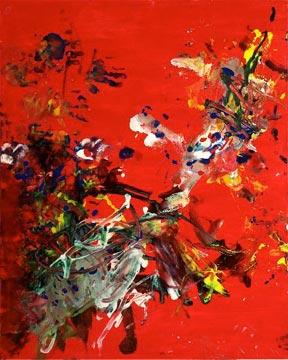 Aelita Andre painting 2