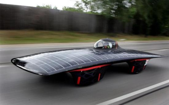 Centaurus 2 Solar Powered Vehicle 1