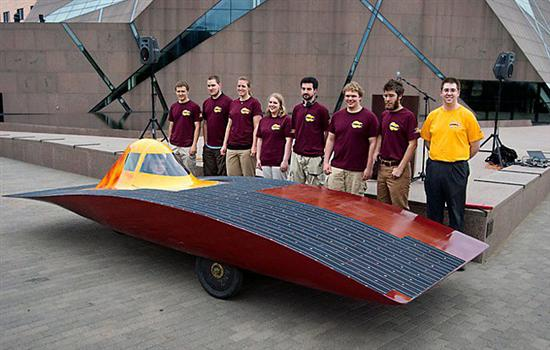 Centaurus 2 Solar Powered Vehicle 2