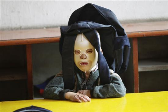 Chinese mask boy 3