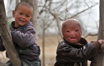 Chinese mask boy 4