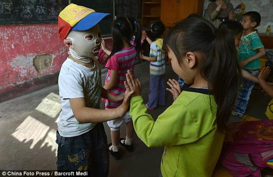 Chinese mask boy 6